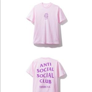 10f5250c7705 Anti Social Social Club Shirts - Anti Social Social Club Shibuya tee